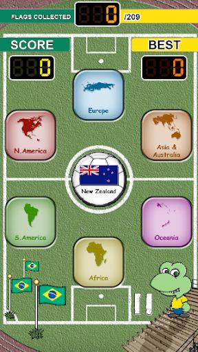 Flag Drag 2014 Brazil