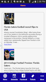 Florida Football- screenshot thumbnail