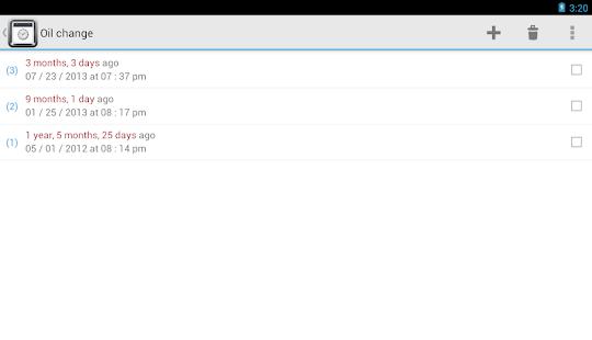 TimeJot - screenshot thumbnail