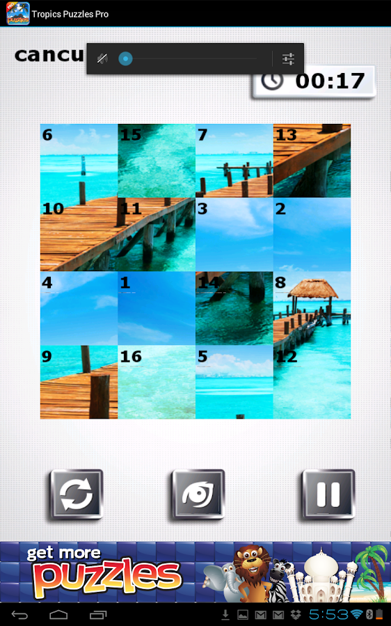 Tropics Puzzles- Feel Paradise- screenshot