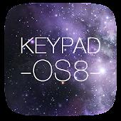 Keypad Lock ScreenFree IOS 8 APK for Bluestacks