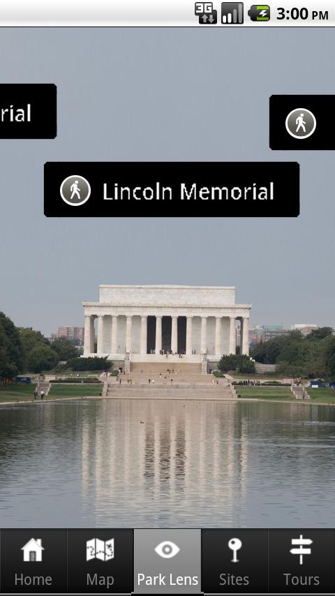 NPS National Mall - screenshot