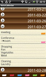 NoteCalendar Free- screenshot thumbnail