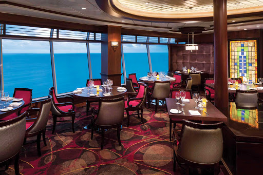 Navigator-of-the-Seas-Chops-Grille - Reservations are required for Chops Grille, Navigator of the Seas' popular steakhouse on deck 11.