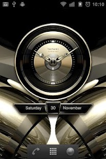 Savin Designer Clock Widget- screenshot thumbnail