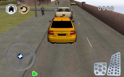 玩模擬App|免费疯狂出租车镇停车场免費|APP試玩