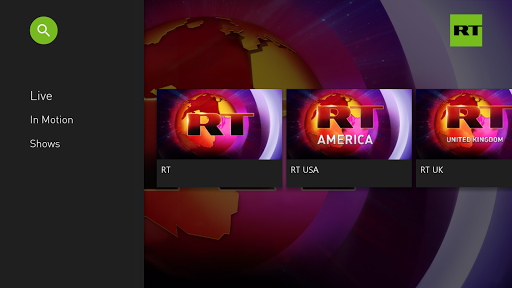 RT News for Android TV