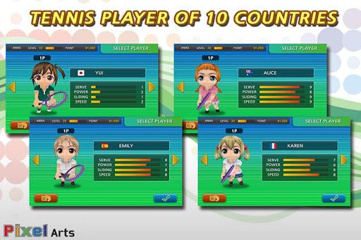 【免費體育競技App】Pocket Tennis Lite-APP點子