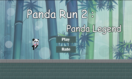Panda Run 2 : Panda Legend