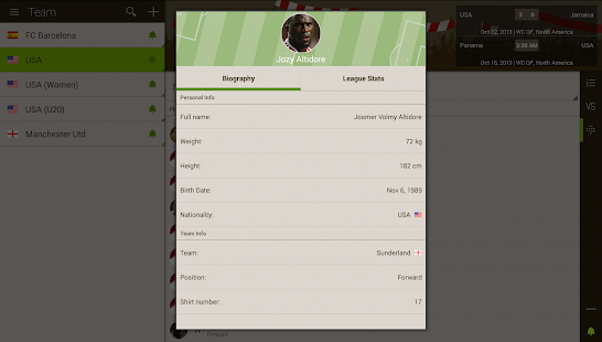 Live Score Addicts - Soccer - screenshot thumbnail
