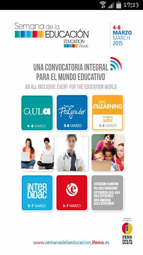SEMANA DE LA EDUCACIÓN 2015