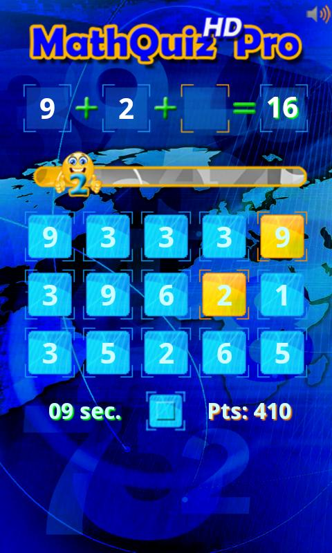 Math Quiz HD Pro- screenshot