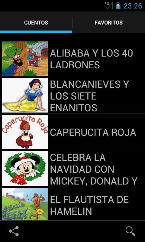 Cuentos cortos - screenshot