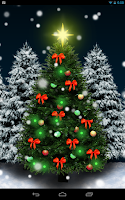 Screenshot of Christmas Crystal Ball Free LW