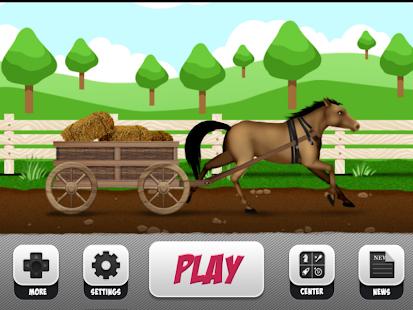 Shadow Horse Cart Racing