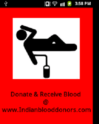 Indian Blood Donors - screenshot