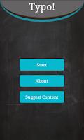 Screenshot of Learn English - Typo