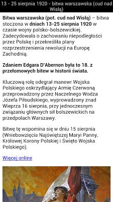 Historia polska - screenshot