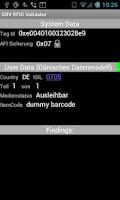 Screenshot of RFID Validator
