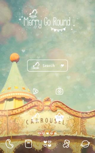 【免費個人化App】merry go round 도돌런처 테마-APP點子