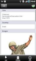 Screenshot of 20th Century Military Uniforms