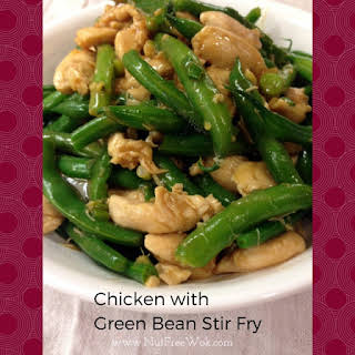 Chicken & Green Beans Stir-fry.