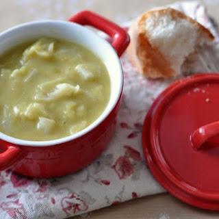 Cabbage Pea Soup.