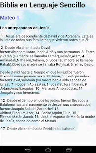 Biblia Lenguaje Sencillo - screenshot thumbnail
