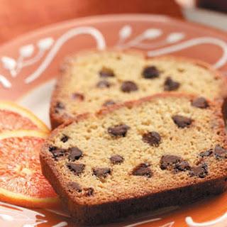 Orange Chocolate Chip Bread.