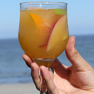 White Peach Sangria.