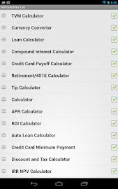 Financial Calculators Screenshot 40