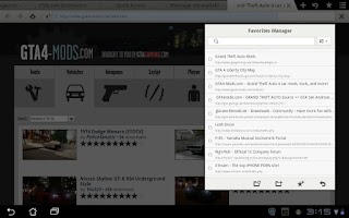 Screenshot of Maxthon Browser for Tablet