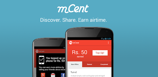 mCent - Free Mobile Recharge APK ...