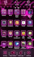 Screenshot of Emo Punk Go Launcher Ex