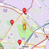 Birmingham Amenities Map