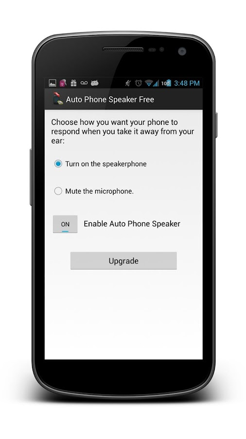 Auto Phone Speaker Free - screenshot