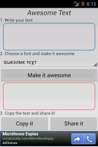 Awesome Text