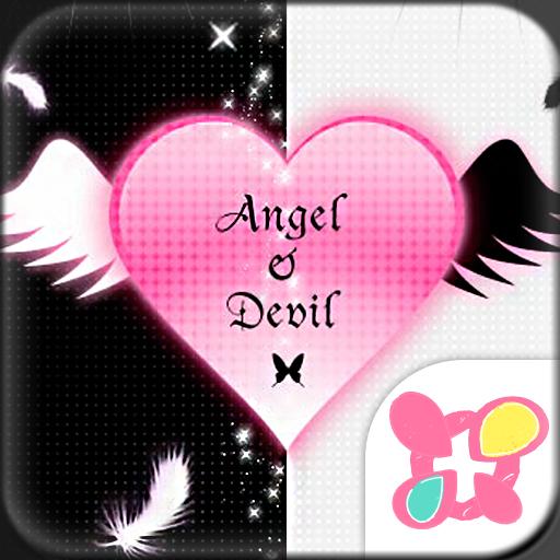 ★きせかえ無料★Angel&Devil 個人化 App LOGO-硬是要APP