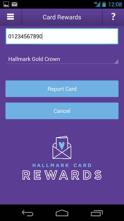 Hallmark Card Rewards - screenshot
