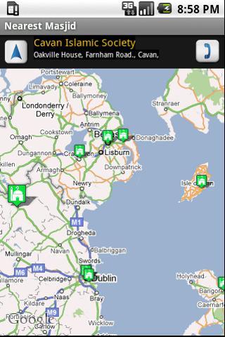 Screenshots for Nearest Masjid Islam