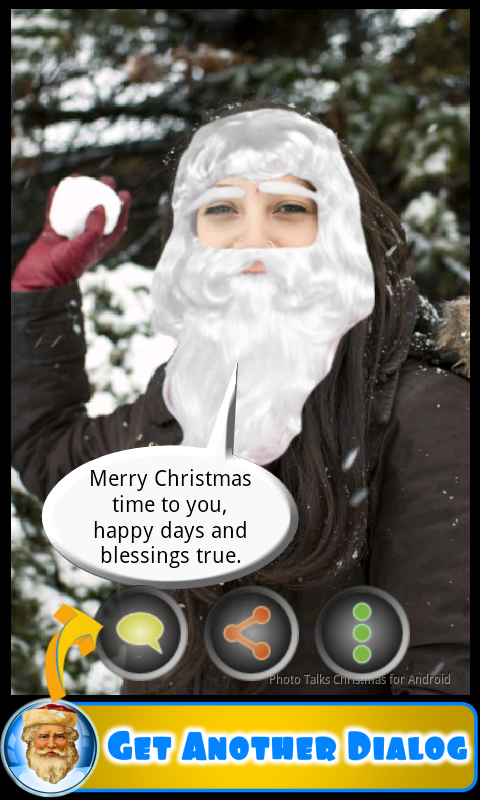 Photo talks Christmas- screenshot
