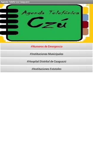 【免費工具App】Agenda Telefónica Caaguazú-APP點子