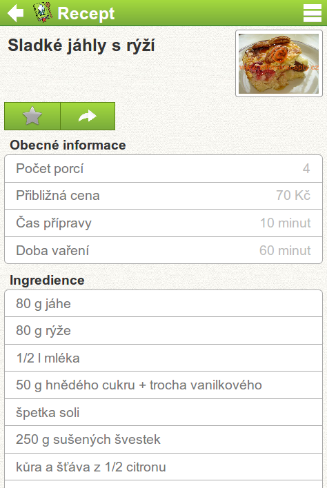 NutriAtlas Free - screenshot