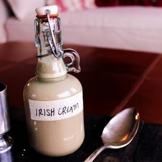 Homemade Irish cream.