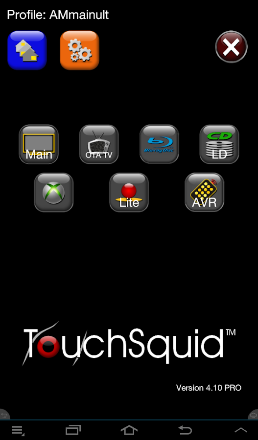 Touchsquid Version 4 HOME- screenshot