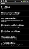 Screenshot of Smart Memory Booster