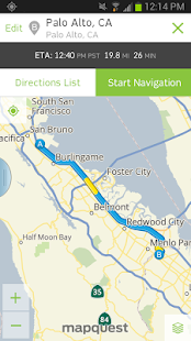 MapQuest: Maps, GPS & Traffic - screenshot thumbnail