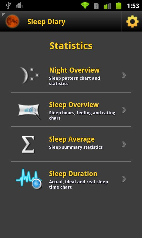 Sleep Diary Pro- screenshot