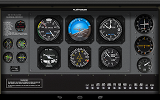 Screenshot of FlightGauge