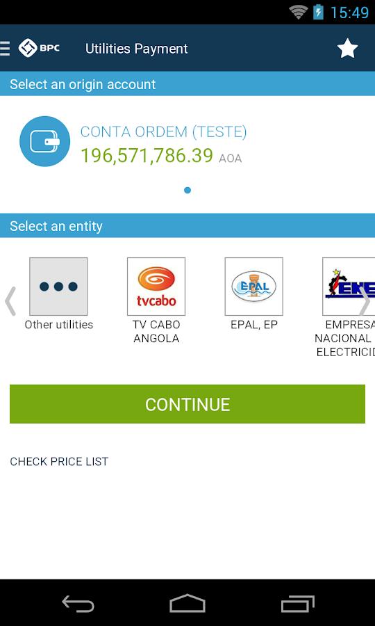 Baixar gratis bpc net banking